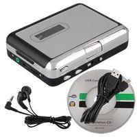 SODIAL Mini USB Audio Cassette Tape Converter to MP3 CD Player PC