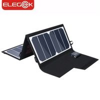 ELEGEEK 20W Folding Charger Portable Dual USB Output High Efficiency Sunpower