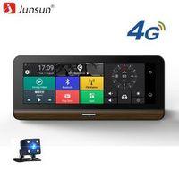 "Junsun Car DVR 4G Supported plus 7.80"" Android 5.1 GPS Bluetooth Dash Cam Registrar"