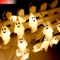 3.5M Ghost Holiday lights Fairy Decoration Gift T Led light String Halloween 20Led