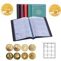 120 Sheets 4 Colors Portable Album Coin Penny Money Storage
