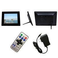 OMESHIN Factory Binmer 7inch HD LCD Digital Photo Frame with Alarm Clock Slideshow