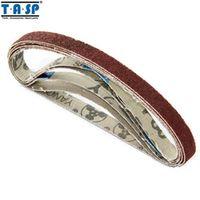TASP Sanding Belt 10x330 mm 5PC Grinding Belt for Woodworking