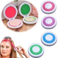 4Pcs Non-Toxic DIY Temporary Hair Chalks Dye Pastels Beauty Tools Salon Kit Fast
