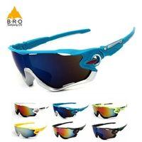 Brosailyang os Cycling Glasses Bike Goggles for women/men Outdoor Sports UV400 Big