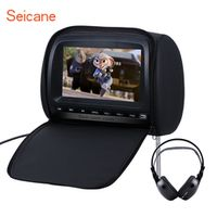 Seicane 9 inch 800*480 Colorful Headrest DVD Player with FM Games Zipper Cover 1 PCS