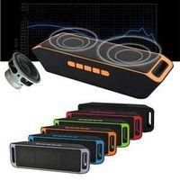 Vehemo SC208 Bluetooth 4.0 Wireless Stereo Subwoofer Speakers TF USB FM Radio