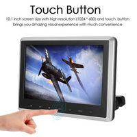 KKmoon 10.1 Inch TFT Digital LCD Screen Car Headrest DVD Player Touch Button Monitor
