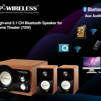 TP-WIRELESS High-end 2.1 Channel Bluetooth Speaker for Home Theater System GOOD SOUND QUANLITY