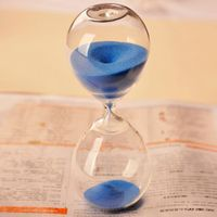 Magic 15 Minutes Mini Hourglass Sandglass Sand Clock Timer