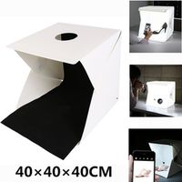 YIXIANG 400*400*400mm mini light strips Professional Portable Mini Kit Photo Photography Studio led photo Light Box Softbox