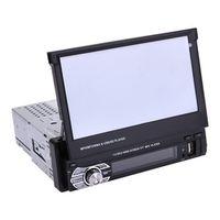 VODOOL Universal 7 Inch Telescopic Large Screen Bluetooth MP5 Player Car Vehicle DVD