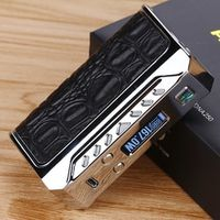 Heavengifts Think Vape Finder 167W TC Box MOD with DNA250 Chip NO Battery with 510 Stainless Steel Threaded No 18650 Battery