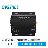 1Pc 2.4GHz RS485 RS232 Converter Wireless Transceiver Module E39-DTU-100 2.4 ghz GPRS DTU rf Transmitter Receiver