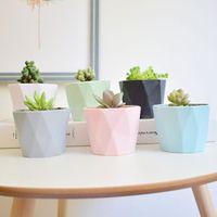 YanXi macaron mini Fleshy plant flowerpots for home vase