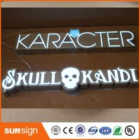 shsuosai Factory Outlet Outdoor Acrylic LED Advertising