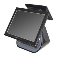 ZHONGJI Popular High Quality Dual Touch Screen All In One PC POS for Retail Store