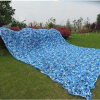 Vilead 5M*9M filet Camo blue camouflage netting sun shelter