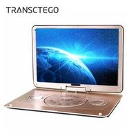 TRANSCTEGO DVD HD portable EVD televisor with 18 inch LCD Digital Multimedia SD card