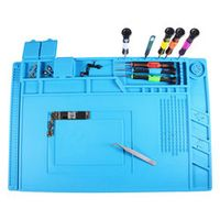 Heat Insulation Silicone Repairing Magnetic Pad  Heat Gun BGA Soldering Station Insulation Pad Repair Tools