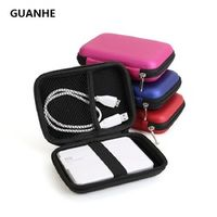 "GUANHE External Portable Zipper Case Bag Pouch Protector For 2.5"" WD Seagate ADATA"