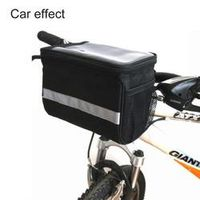 EYCI Cycling Bicycle Front Head Top Frame Tube Bag Handlebar Holder Pannier Pouch