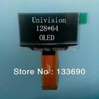 1.54 inch OLED Display screen with 128x64 Resolution white