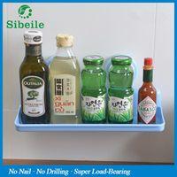 sibeile weiyu SBLE Powerful Corner Space Shelf Bathroom Shower Bath Suction Storage