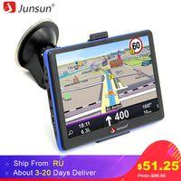 Junsun 7 inch HD Capacitive Car GPS Navigation 8GB MP3/MP4 FM Russia map Permanent