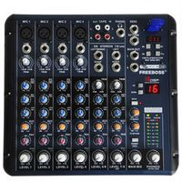 Freeboss SMR8 8 Channels 4 Mono 2 Stereo 16 DSP Sound Console Equipment Professional