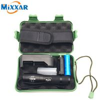 mixxar RU ZK30 LED Flashlight Tactical CREE XM-L T6 4000LM Zoomable Aluminum