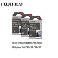 3 packs Fujifilm Instax Mini Film Monochrome For Polaroid Mini 8 7s 7 50s 50i 90 25