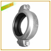 """DN 50 2"""" 60.3 mm 1200 psi Stainless Steel Pipe Clamp Casting Coupling"""