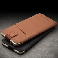 "QIALINO For iphone 6 6s 4.7 Pouch 6s plus 5.5"" Leather with Card Slot Luxury Case"