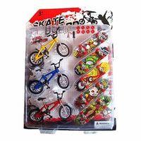 HBB Toy Mini Finger Skateboards Bicycles Children Kids