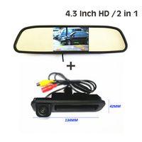 "GYT-AUTO 4.3"" mirror monitor TFT LCD For Ford Focus 2 Focus 3 Sedan Hatchback CCD HD"