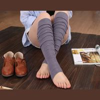Ladysec Solid color Leg warmer for Women/female/girl/lady