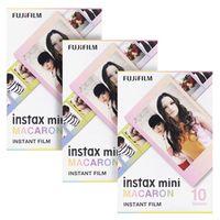 Fujifilm Instax Mini Macaron Instant 30 Film for Fuji 7s 8 8 9 25 50s 70 90 300 SP-1