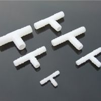 3pcs 4-11mm Plastic Water Air Tee Pipe Three Way T-branch Russia