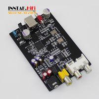 YJHiFi version Assembled XMOS U8 PCM5102 TDA1308 USB Coaxial DAC Sound Card 32bit