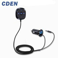 CDEN Handsfree Bluetooth Car Kit MP3 Player For Car USB Charger Support For Siri