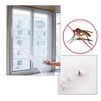 Anti-mosquito Net Self-adhesive Flyscreen 2M*1.5M Curtain Insect Screen Mosquito Bug Mesh Window Screen