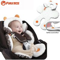 FIRSTPLUS Soft Car Baby Seat Body Head Cushion Supporting Sofa Winter Warm Stroller