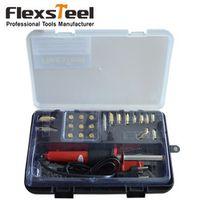 flexsteel 25PC 110V/220V 40W Pyrography Tool Set With 21PC Wood Burning Tips 1PC 2PC