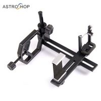 Fully Metal Telescope Camera Smartphone Adapter with 2 Phone Brackets Monocular