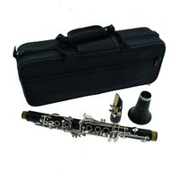 kolns Eb cut small clarinet black tube drop E