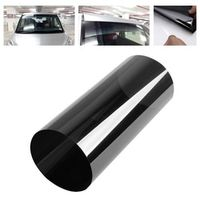 20cm x150cm Dark Black Window Tint Film Glass Car Auto House Commercial Solar