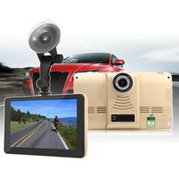 KONNWEI 7 Inch Capacitive Car DVR Camera Recorder Android GPS Navigation WIFI FM