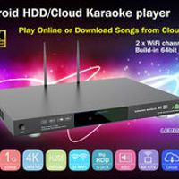 LEMON KTV 8856 5 High quality professional android system AGC/AVC songs cloud home