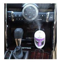 Liplasting Mini Car Air Humidifier Diffuser Oil Ultrasonic Fragrance Aroma Mist